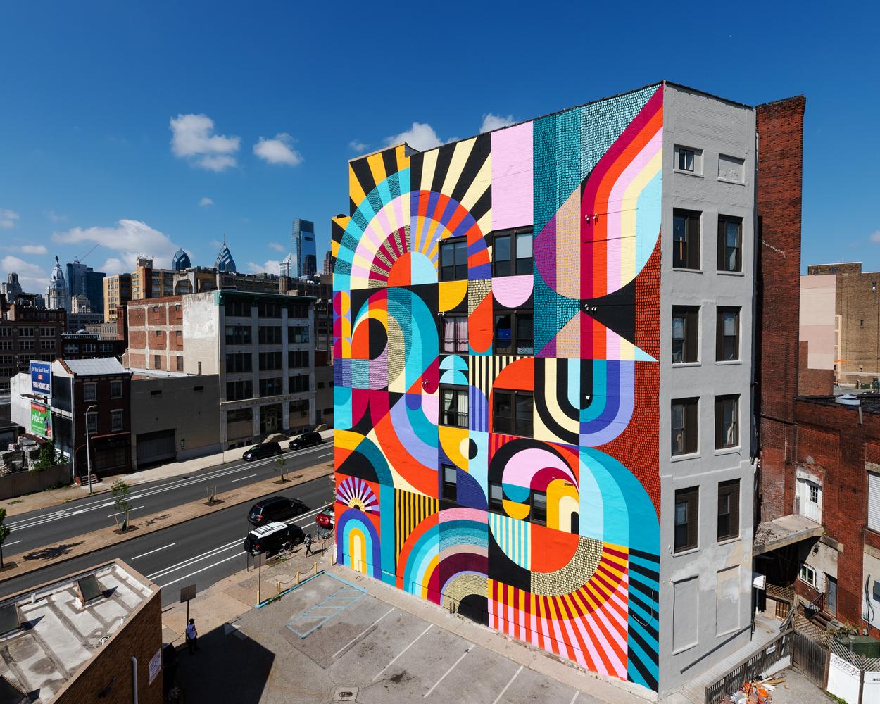 A Pop of Color on Public Spaces