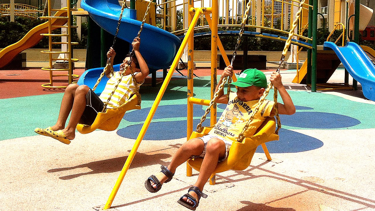 How to ensure comfort and safety of the playgrounds